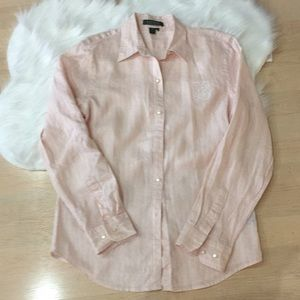Ralph Lauren pink shirt size: small